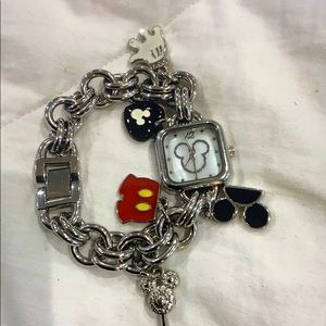 Disney - Mickey Mouse Charm Bracket Watch